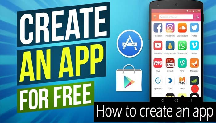 How to create an app for free without coding in just 5 minutes