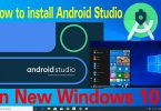 How to install Android Studio on New Windows 10
