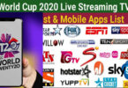 Best Apps to Watch T20 World Cup Live Streaming